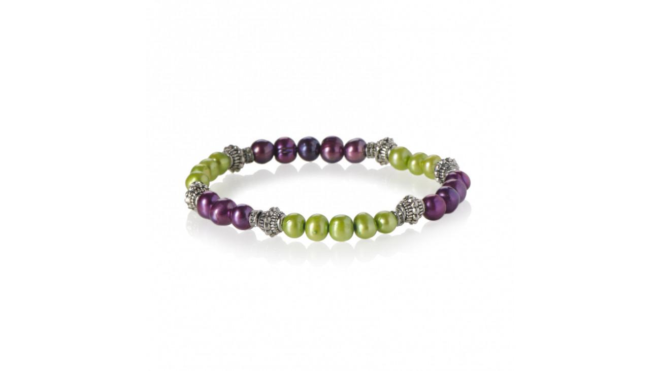 bracelet vert et violet. Black Bedroom Furniture Sets. Home Design Ideas