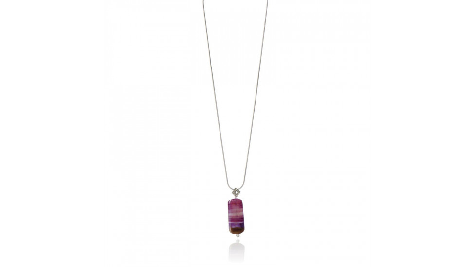 Collier-Agate Rose Horizon